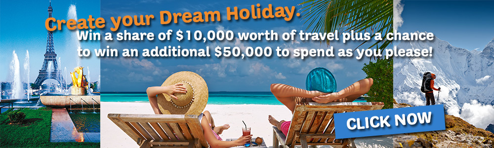 ICE Vacations - Simply answer a few questions for your chance to create YOUR dream holiday